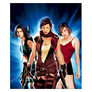 Resident Evil. Размер: 25 х 30 см